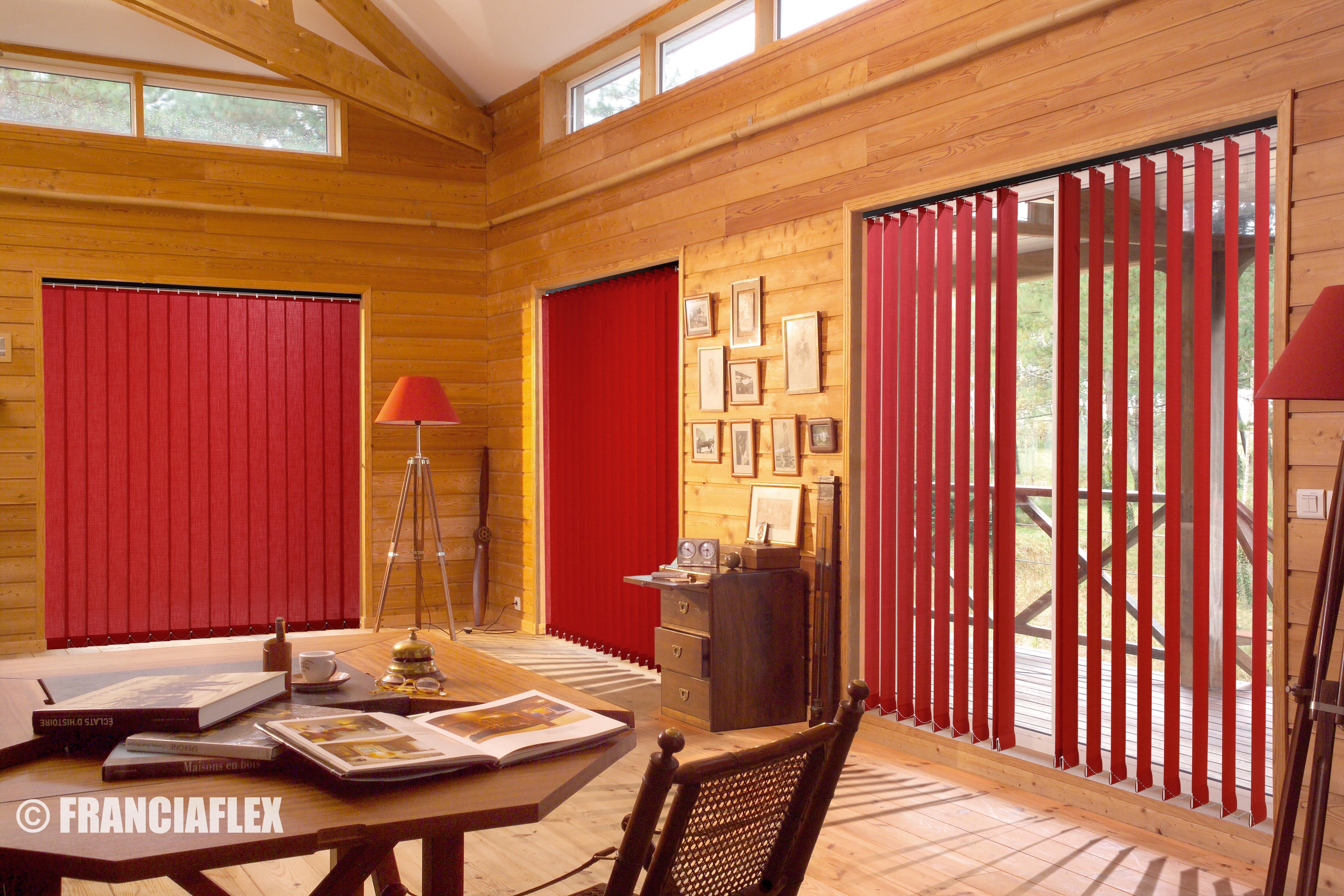 stores bandes verticales om concept. Black Bedroom Furniture Sets. Home Design Ideas