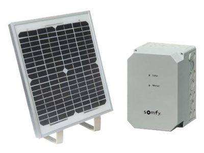 Kit solaire - Motorisation portail Genève